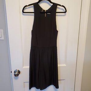 Rebecca Taylor Silk Zipper Back Dress Sz 4